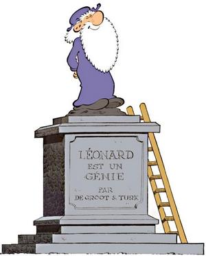 Léonard, Génie de la bande dessinée